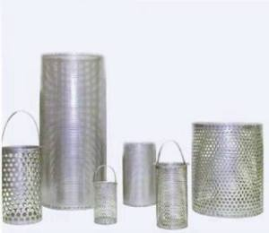 Stainless Steel Strainers and Strainer Baskets